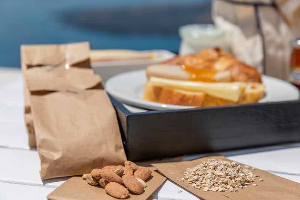 continental breakfast santorini 18